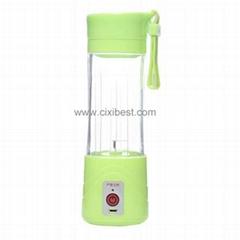 Light Green Juicer USB Juice Blender BJ-02