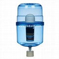 Clear Water Cooler Filtering Bottle