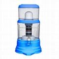 Sky Blue Bottle Water Purifier Mineral