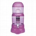 Purple Mineral Water Purifier Filtering