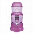 Purple Mineral Water Purifier Filtering Water Pot JEK-69