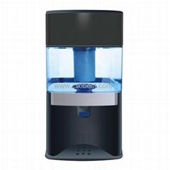 Black Mineral Water Pot Water Filtering System JEK-77