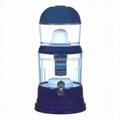 Dark Blue Mineral Water Pot Water