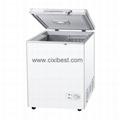 128L DC Solar Fridge Solar Refrigerator