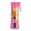 Portable Pink Juice Blender Juice Cup BJ-10