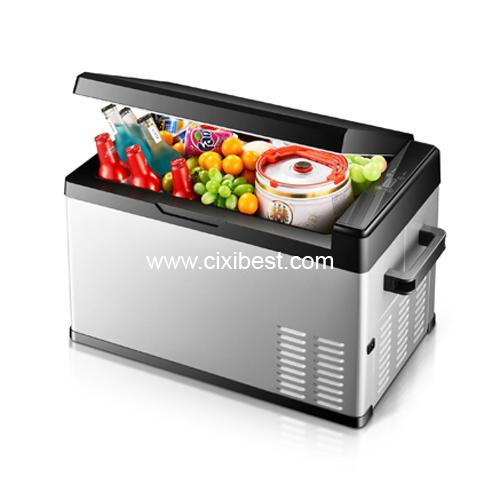 12V 24V DC Car Fridge Freezer Mini Car Refrigerator BF-211 2