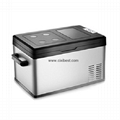 Germany 12V 24V Mini Fridge Car Freezer Car Refrigerator BF-207