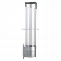 Magnetic Si  er Cup Holder Cup Dispenser BH-02