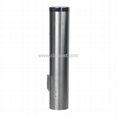 Stainless Steel Cup Holder Rack Cup Dispenser BH-09