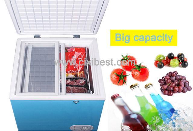 60L DC Solar Deep Freezer Chest Freezer Fridge BF-60 7