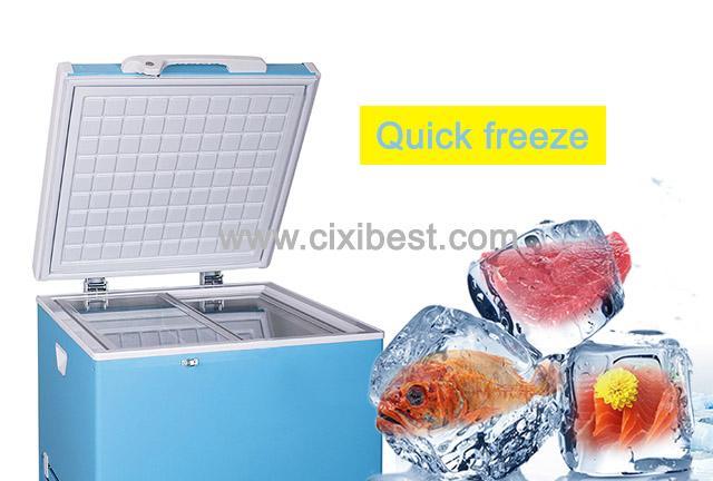 60L DC Solar Fridge Solar Refrigerator Solar Freezer BF-60 8