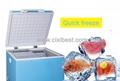 60L DC Solar Deep Freezer Chest Freezer Fridge BF-60 8