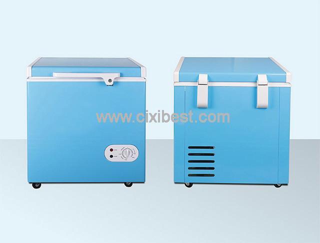 60L DC Solar Deep Freezer Chest Freezer Fridge BF-60 5