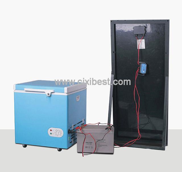 60L DC Solar Deep Freezer Chest Freezer Fridge BF-60 6