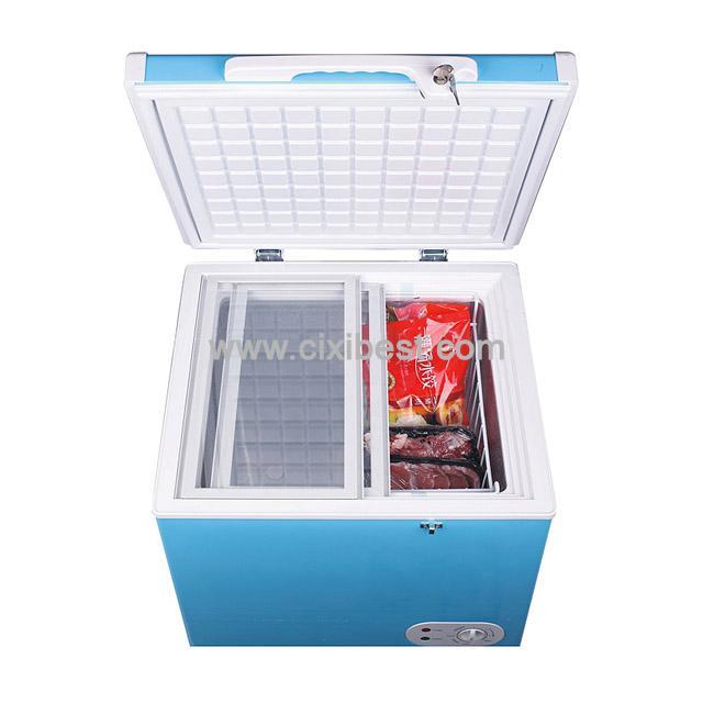 12V 24V DC Deep Freezer Solar Fridge Solar Freezer BF-60C 1