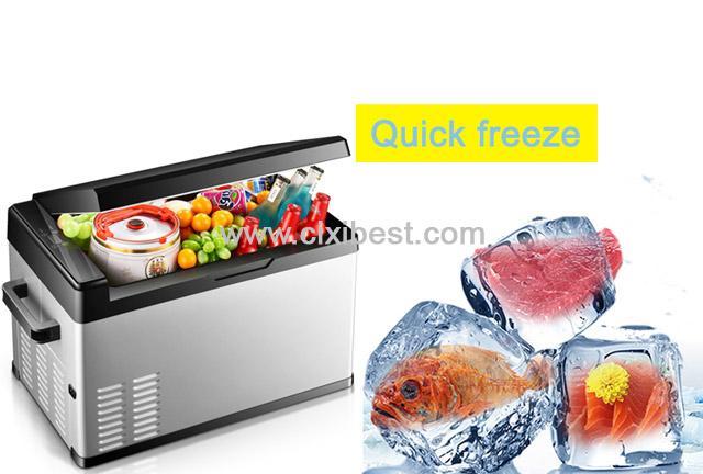 25L 12V 24V DC Car Fridge Car Freezer Car Refrigerator BF-201 7
