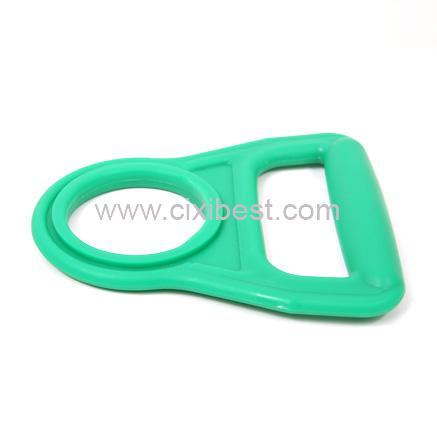 Green Plastic Bottle Handle Holder Bottle Carrier BT-09 1