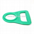 Green Plastic Bottle Handle Holder