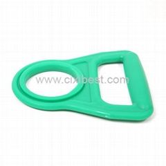 Green Plastic Bottle Handle Holder Bottle Carrier BT-09