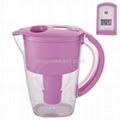 Pink Water Pitcher Jug Water Purifier