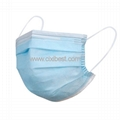 China Surgical Dust Mask 3 Ply Earloop Face Mask FM-01