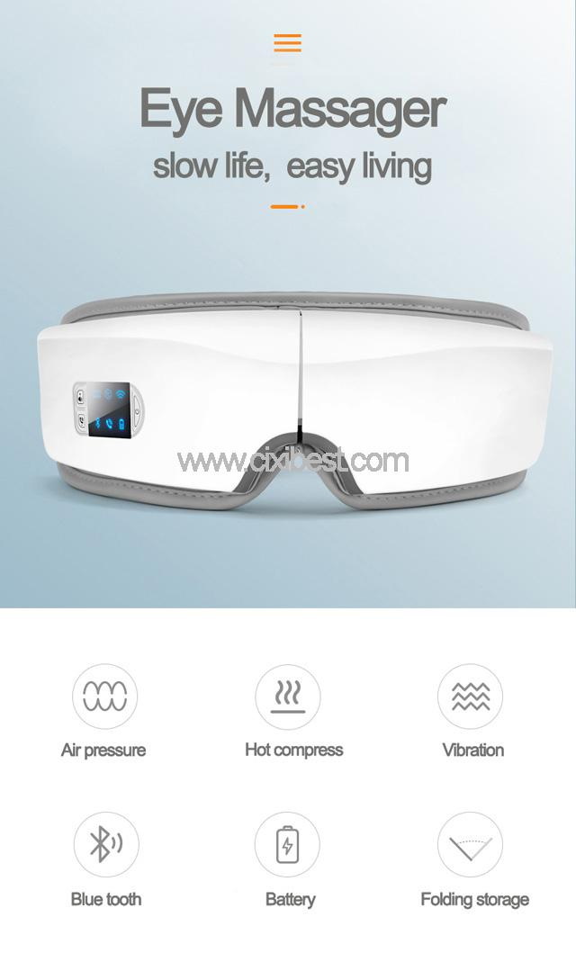Wireless Vibrating Eye Massager Eye Fatigue Massager JB-018 9