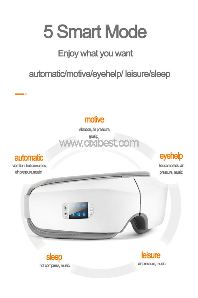 Wireless Vibrating Eye Massager Eye Fatigue Massager JB-018 10