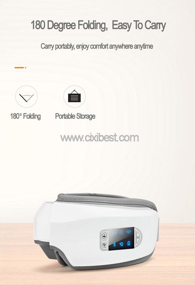 Wireless Vibrating Eye Massager Eye Fatigue Massager JB-018 13