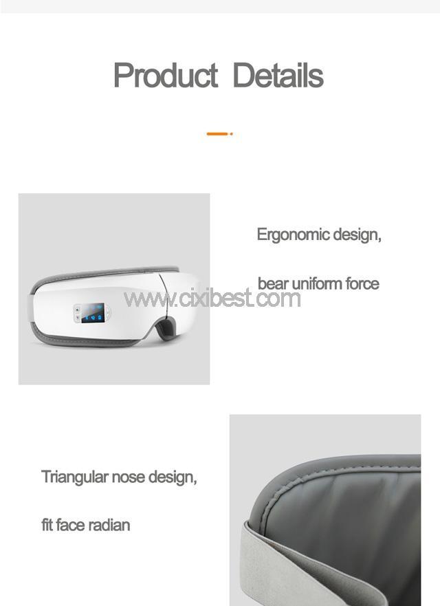 Wireless Vibrating Eye Massager Eye Fatigue Massager JB-018 14