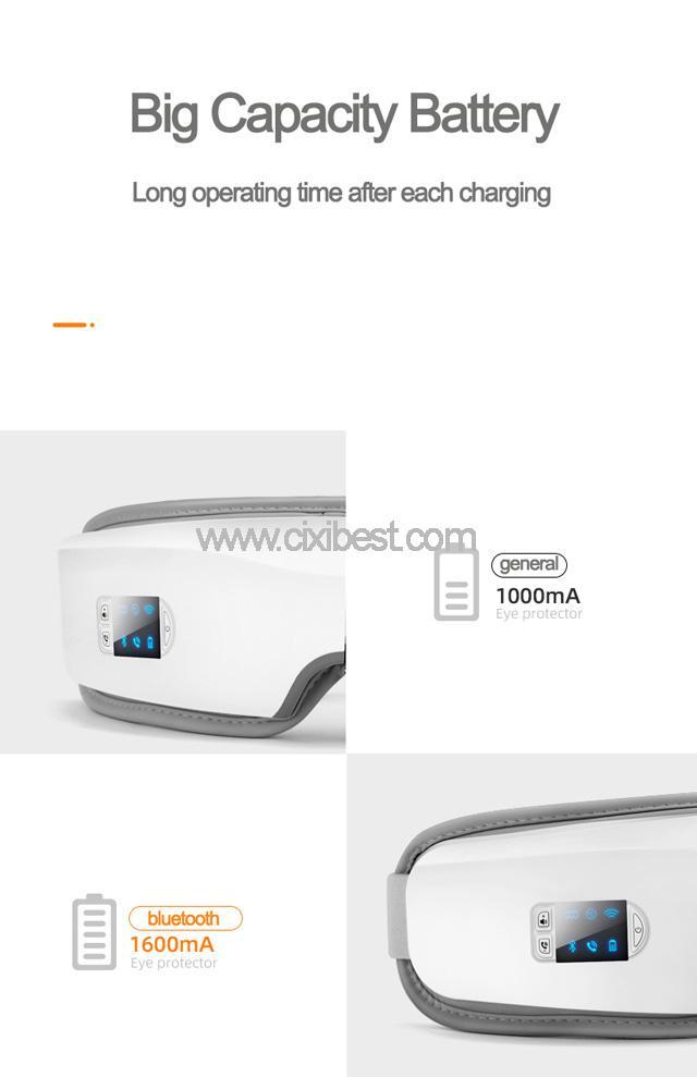 Wireless Vibrating Eye Massager Eye Fatigue Massager JB-018 15