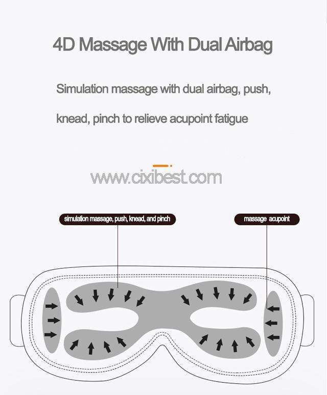 Wireless Vibrating Eye Massager Eye Fatigue Massager JB-018 17