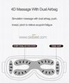 Wireless Vibrating Eye Massager Eye Fatigue Massager JB-018