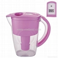Portable Pink Water Pitcher Jug With Purifying Filter BWP-06