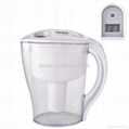 Active Carbon Filtering Water Pitcher Purifier Jug BWP-08