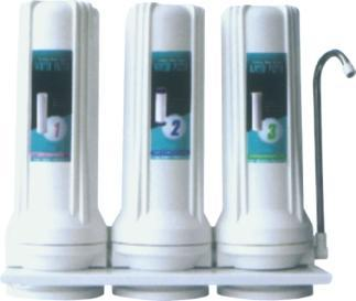 3 Stage Reverse Osmosis Active Carbon Filter Purifier RO-3S 1
