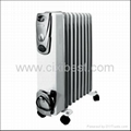 Slim Electric Room Oil Filled Radiator Heater BO-1001