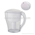 Small 5 Cup Metro White Water Pitcher With Filter BWP-09