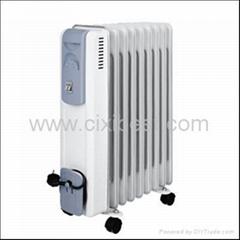 Portable Electric Room Oil Filled Heater Radiator BO-1011