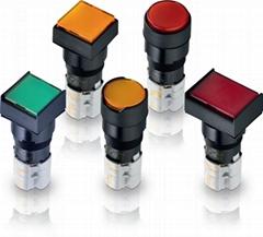 LUMOTAST 75 IP65 - Pushbutton range
