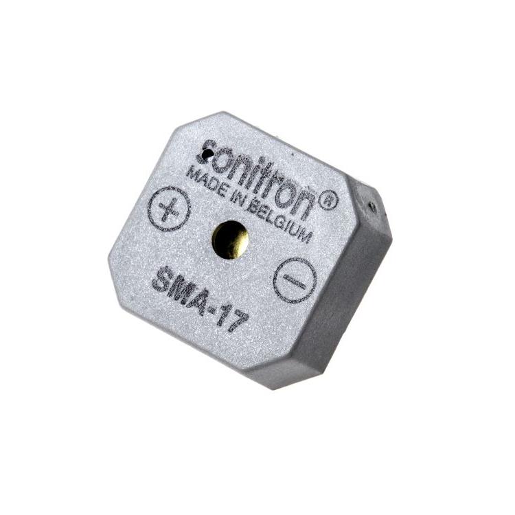 Square circuit board mounted buzzer sma-17 P10 1