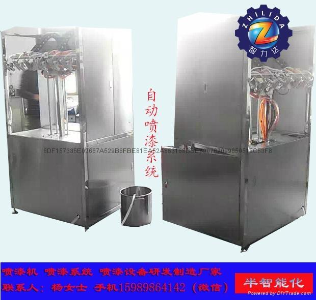 自動噴漆機械設備 噴油機 1