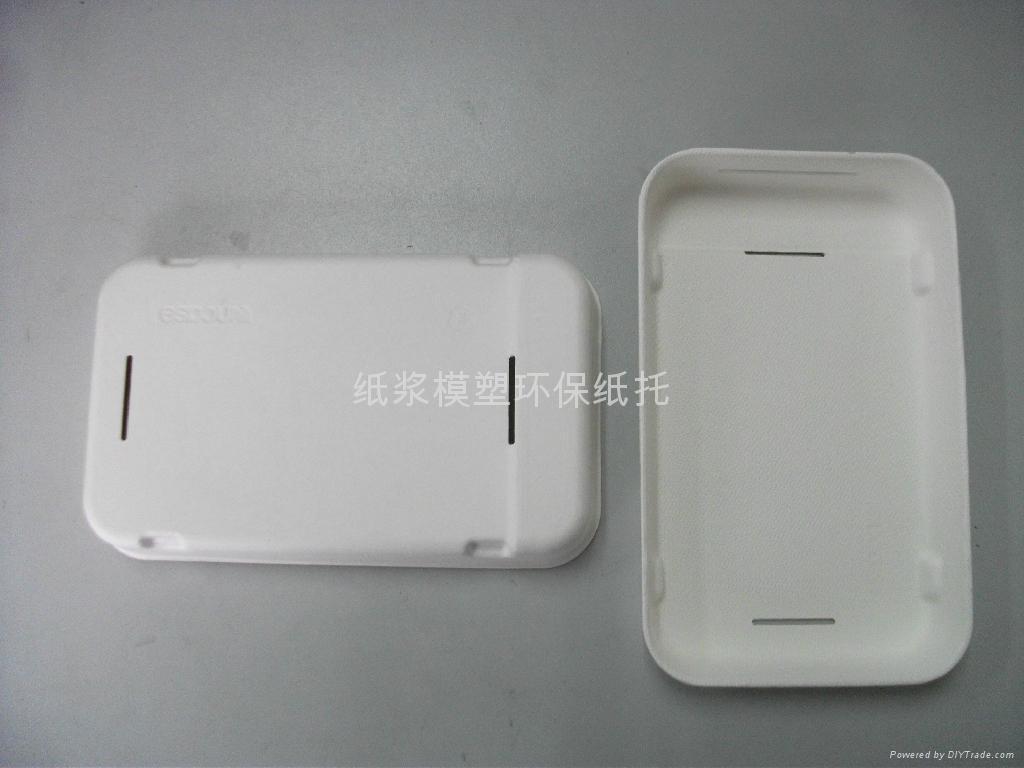 萍果4G手機紙托包裝 4