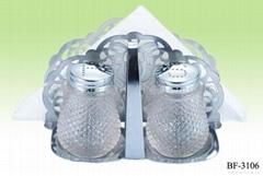鹽粉紙巾架調味瓶