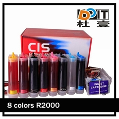 8 colors continous ink supply system for epson R2000