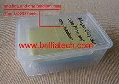 2pcs car accessories yellow magic clay bar auto care wash cleaning cay sludgemud
