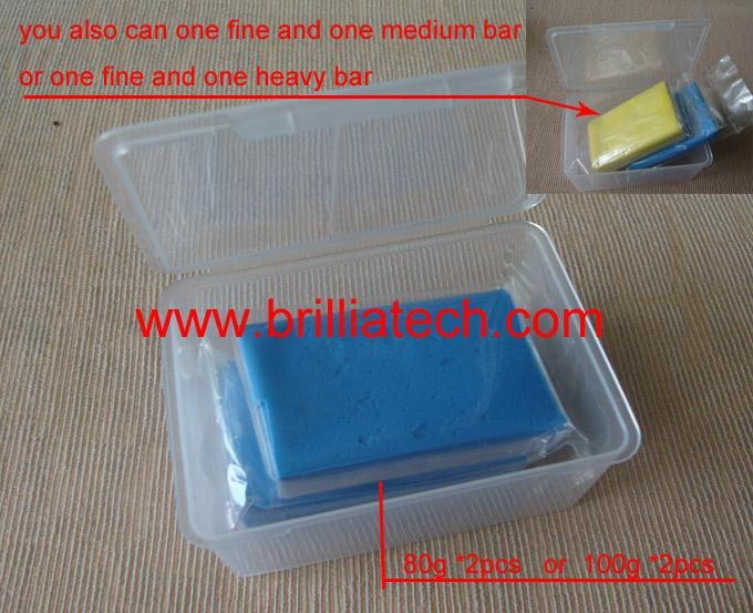 fine blue magic clay bar