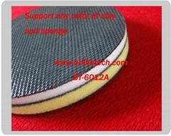 Magic clay sponge pad polishing buff pad Self-Adhesive Detailing clay disc