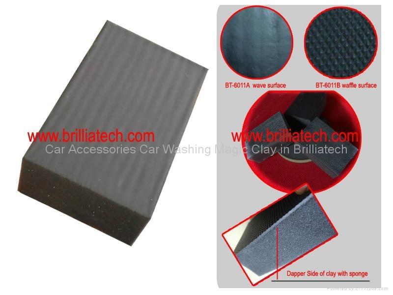 BT-6011B Magic Clay Block Polishing Buff Magna Shine Body Sponge 1