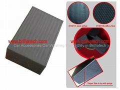 car paint wipe compressd sponge clay block absorbent foamy mud sponge a0uto care