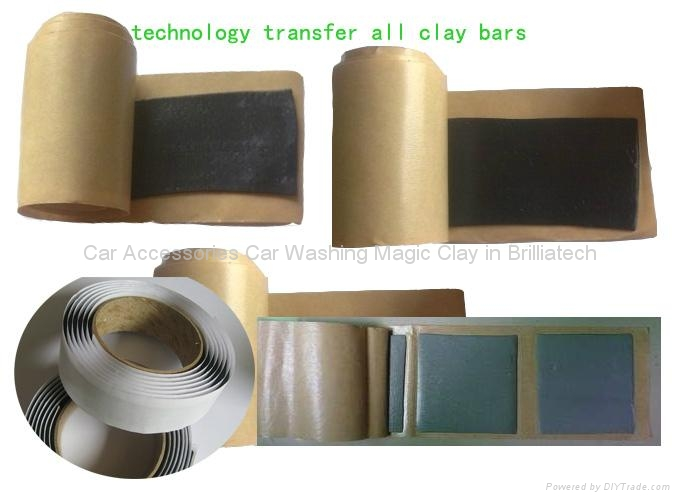 Damping Clay Bar Damping Block Technology Transfer